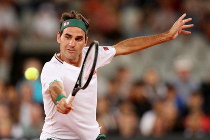 Este año, Roger Federer solo disputó el Abierto de Australia y un partido de exhibición con Rafael Nadal en Sudáfrica (REUTERS)