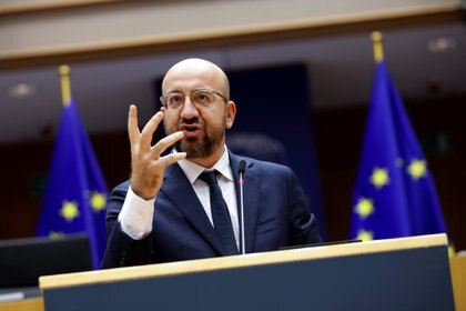 el presidente del Consejo Europeo Charles MIchel (Francisco Seco via REUTERS)