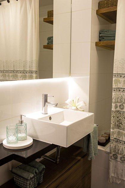 El baño. (Foto: Axel Indik/Para Ti)