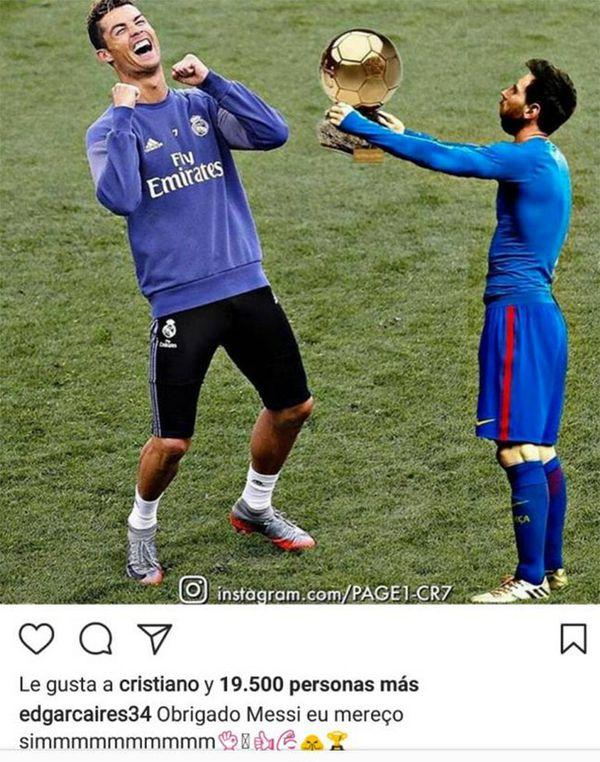 CR7 rechazo asisitir a la boda de Messi