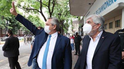 """""""Es un gran dirigente gremial"""", afirmó Alberto Fernández sobre Moyano"""
