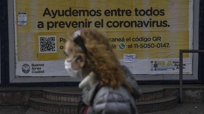 El 49% de los porteños que tienen una cobertura de salud privada, sea obra social o prepaga, está considerando dejar su cobertura actual y pasar a ser usuario de la salud pública (Alejandro Santa Cruz/Télam)