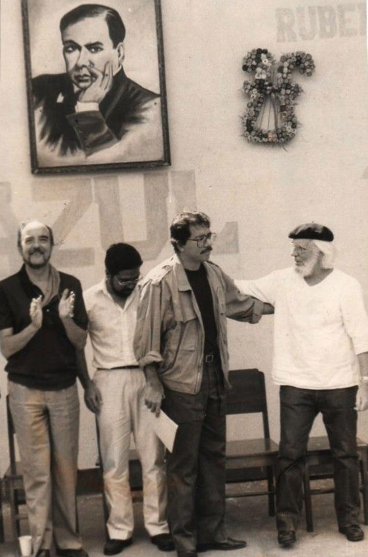 Ortega y Cardenal, cuando aún mantenían buenas relaciones