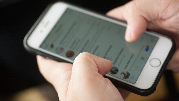 La aplicación limita la cantidad de mensajes que se pueden reenviar.