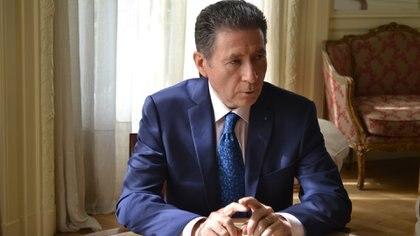 El embajador de Francia en Buenos Aires, Henri Guignard.