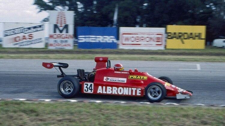 Massei, a bordo de su Fórmula 2, en 1986, cuatro años después de Malvinas había encontrado una nuevo objetivo.