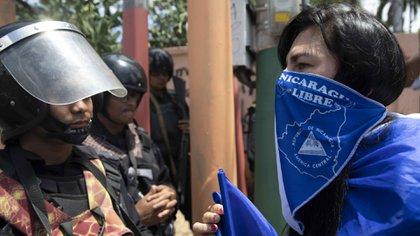 Manifestaciones en Nicaragua contra el régimen de Daniel Ortega