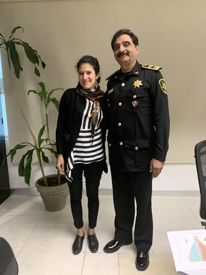 Bertha Alcalde Luján fue nombrada el pasado mes de febrero, jefa de Oficina de la Secretaría de Seguridad Ciudadana (Foto: Twitter/BerthaAlcalde)