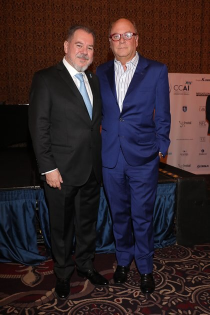 Mario Montoto y Martín Cabrales