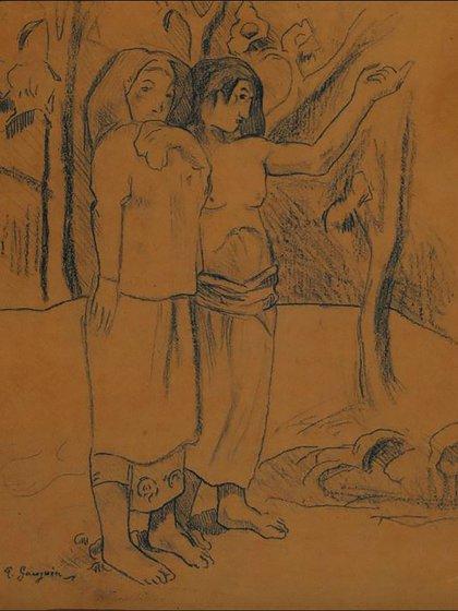 El llamado, de Gauguin, una de las obras recuperadas