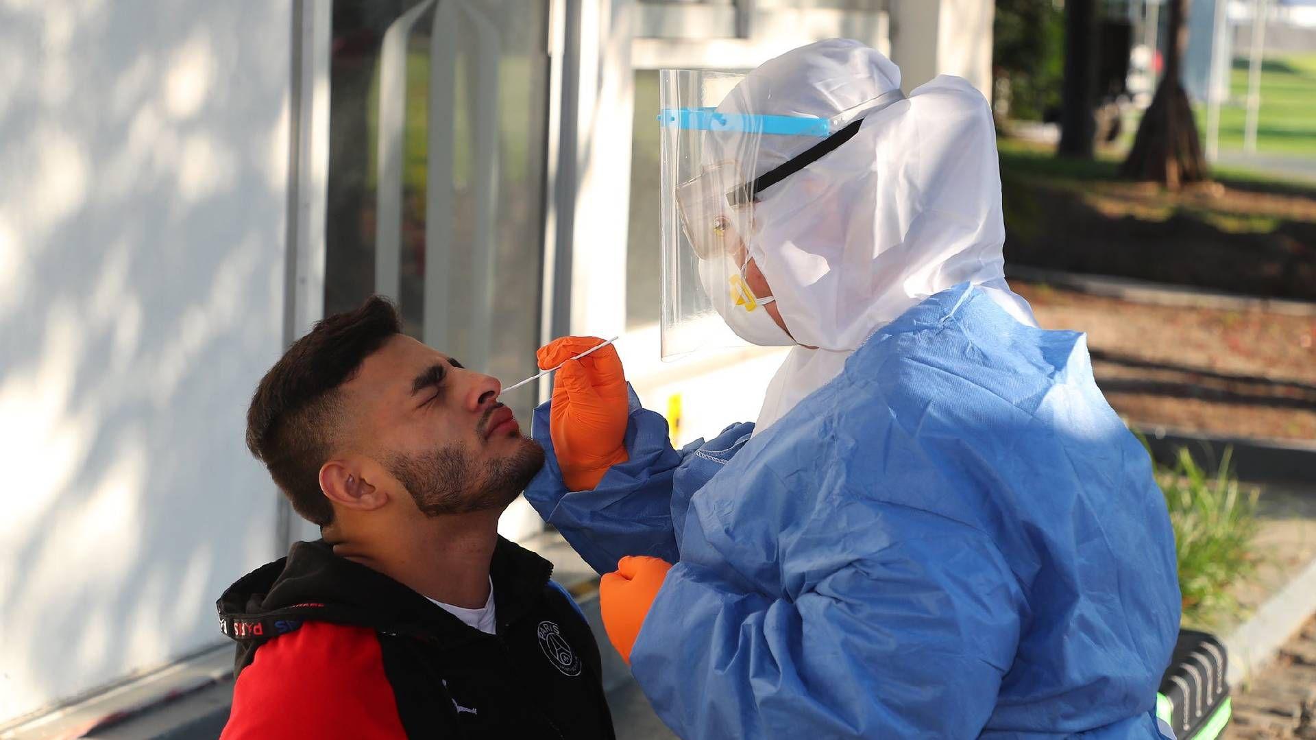 Chivas realizó pruebas médicas a sus jugadores (Foto: Twitter@Chivas)