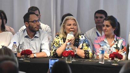 La Coalición Cívica la conduce la ex diputada Elisa Carrió