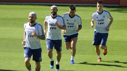 Sergio Agüero volvería a ser de la partida en el partido definitorio ante Qatar (REUTERS/Washington Alves)