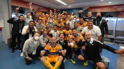 Tigres UANL, with three coffee growers on its payroll, defeated Palmeiras in the semifinal of the contest. Via: Twitter @TigresOficial