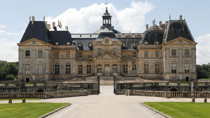 El castillo Vaux-le-Vicomte está a una hora en auto desde París (AFP)