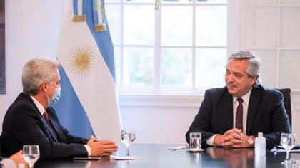 Alberto Fernández participó este lunes del anuncio de inversiones de Whirlpool.