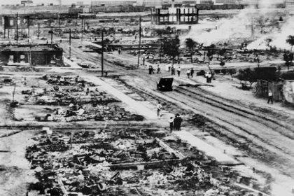 Tulsa después de los violentos hechos (Foto: Captura de pantalla