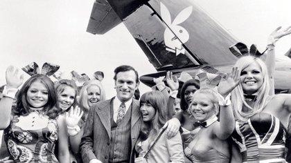 """Hugh Hefner publicó el primer número de """"Playboy"""" en 1953. Murió en 2017 por causas naturales a los 91 años (Archivo Atlántida Televisa)"""