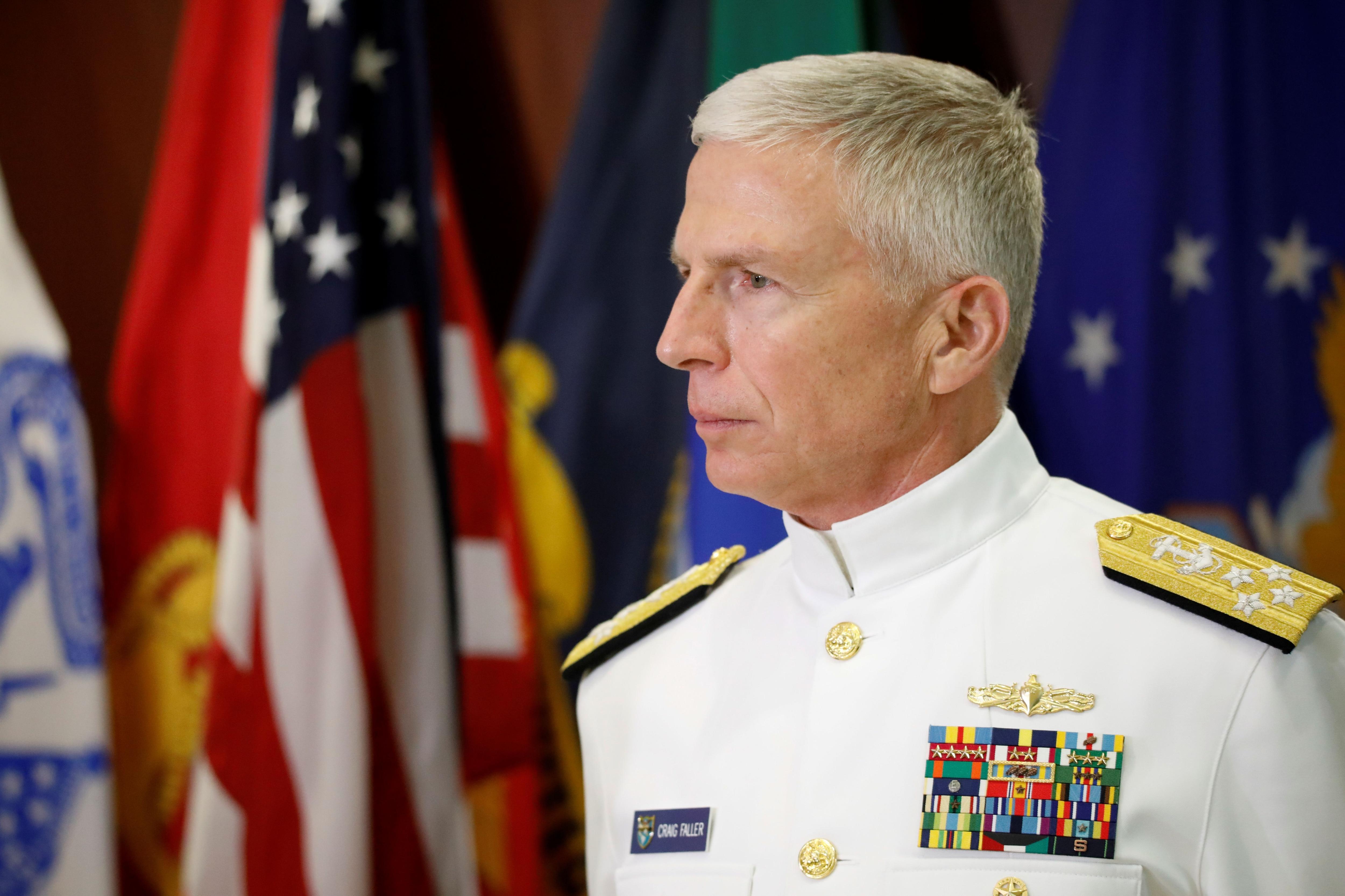 El jefe del Comando Sur, Craig S. Faller (Reuters)