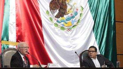 Mario Alberto Rodríguez, presidente de la comisión de Vigilancia de la ASF en San Lázaro, confirmó la separación (Foto: Cortesía Cámara de Diputados)