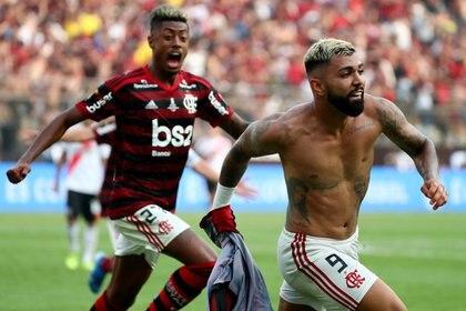 Flamengo se coronó campeón de la Copa Libertadores 2019 tras vencer a River Plate en la final (REUTERS/Pilar Olivares)