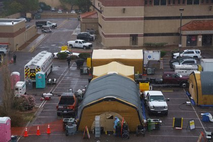 Los hospitales de El Paso han alcanzado el 100% de su capacidad debido al aumento de las infecciones por COVID-19 (Foto: Paul Rodge / REUTERS)