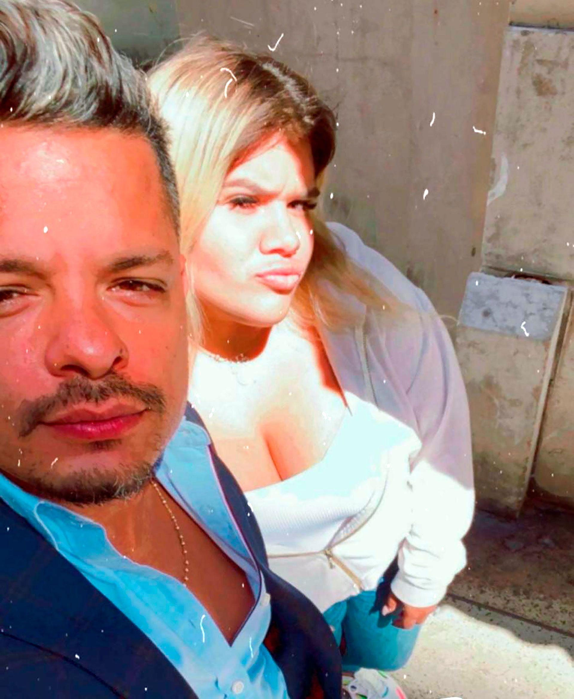 Alejandro Cipolla y Morena Rial