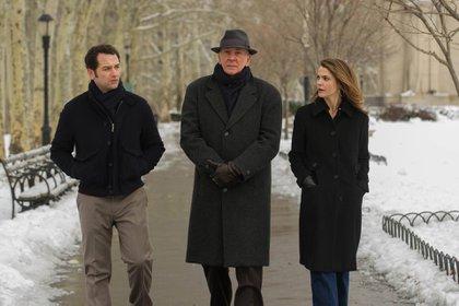 Philip y Elizabeth Jennings con su contacto de la KGB (The Americans)