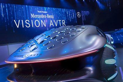 El detalle de las aletas biónicas que, según el fabricante, conectan al conductor con el entorno. (Daimler)