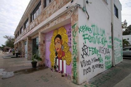 Victoria Salazar fue sepultada en El Salvador el 4 de abril (Foto: Paola Chiomante/Reuters)