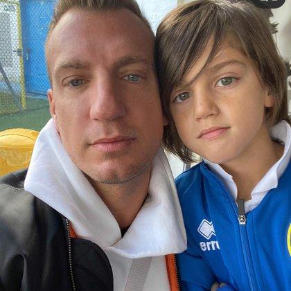 López junto a Costantino (Foto: Instagram)