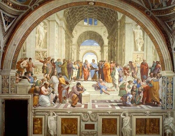 """""""La Escuela de Atenas"""""""