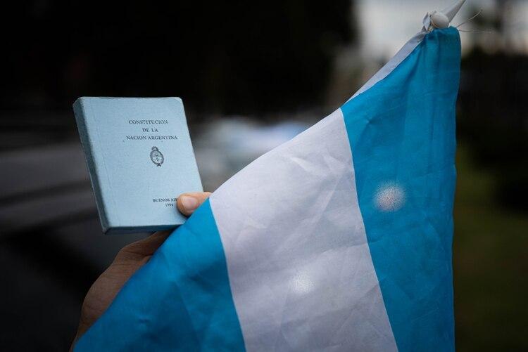 El anuncio de la expropiación de Vicentin provocó una fuerte protesta (Foto: Franco Fafasuli)