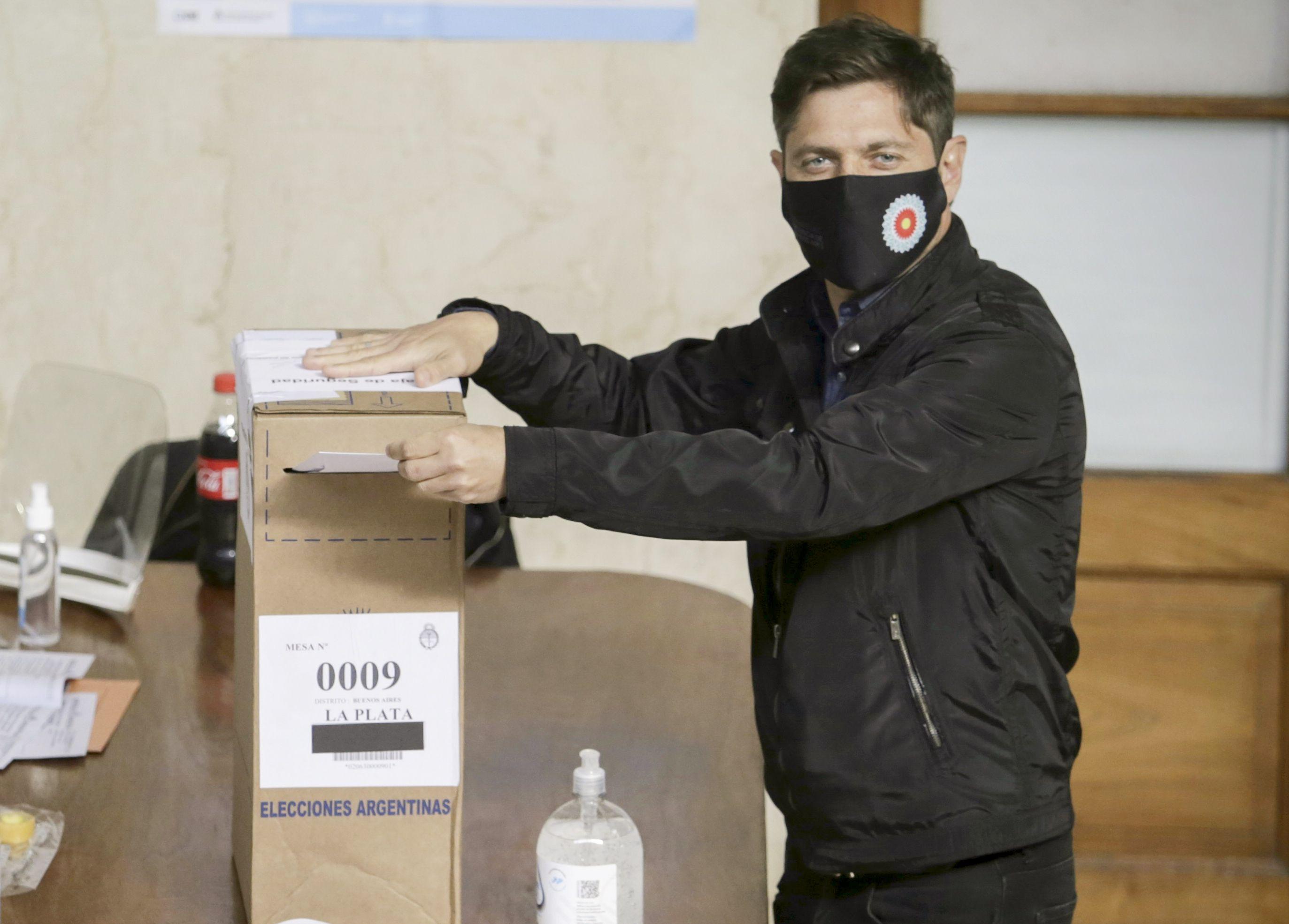 Voto Axel Kicillof - Paso 2021