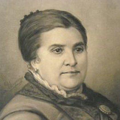 Dolores Costa, la esposa de Urquiza. Demostró temple y carácter cuando asesinaron a su marido.
