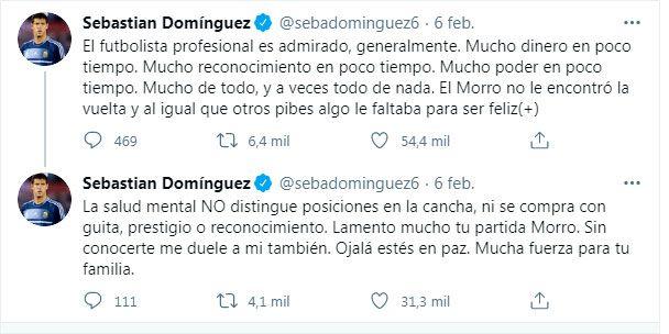 Domínguez sobre el Morro García
