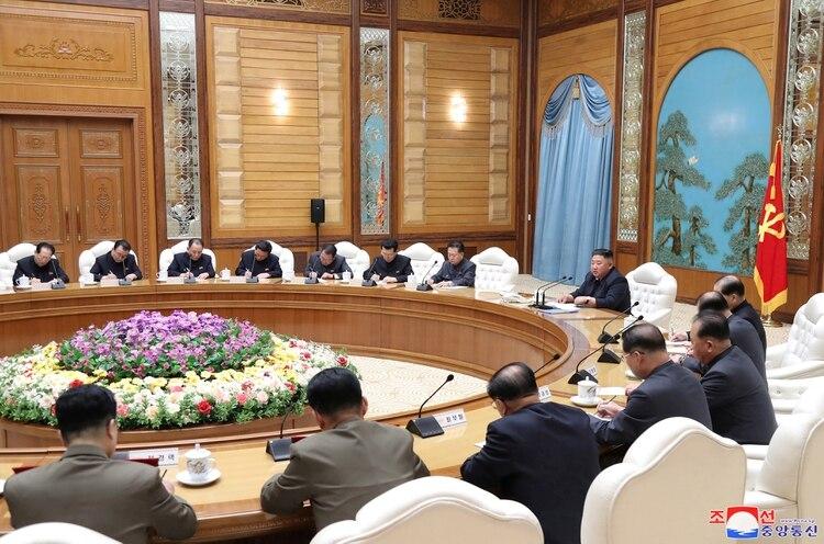 Kim Jong-un en su última aparición pública. KCNA/via REUTERS