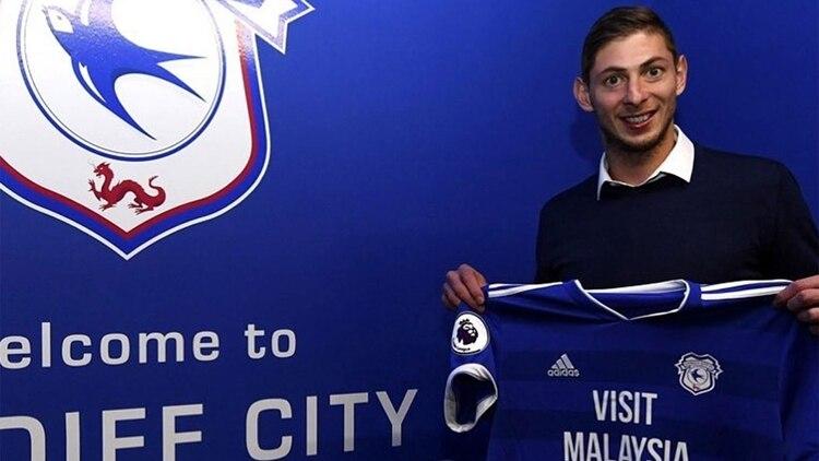 Sala había sido transferido al Cardiff
