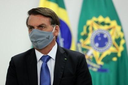 Bolsonaro anuncia que ha vuelto a dar positivo por la COVID-19