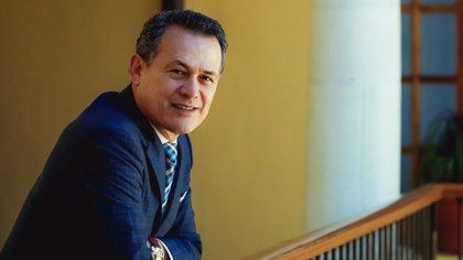 Adolfo Pontigo Loyola, rector de la Universidad Autónoma del Estado de Hidalgo (UAEH) (Foto: Facebook @AdolfoPontigoLoyola)
