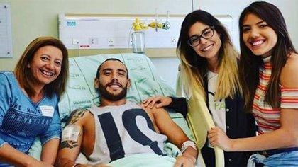 El jugador estuvo cerca de seis meses en recuperación