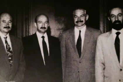 Enrique, Carlos, Raúl y Sergio Salinas de Gortari (Crédito: Especial)