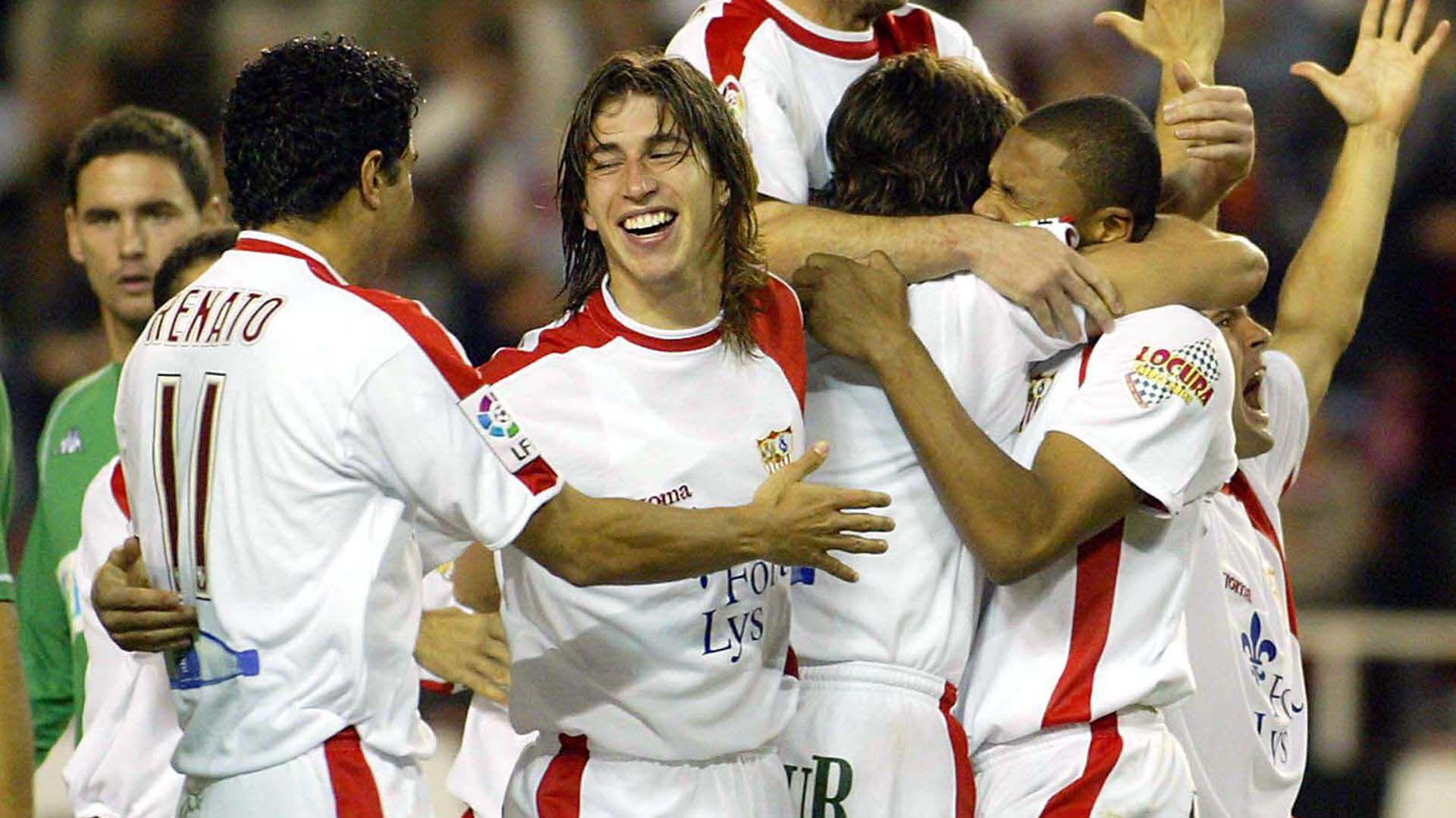 Ramos en el Sevilla, el club que lo vio nacer (Foto: AFP)