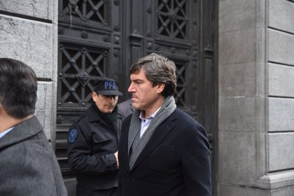 El procurador Bernardo Saravia Frías