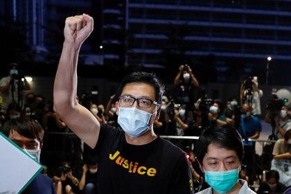 Beijing ha arrestado a numerosas figuras opositoras desde la aprobación de su polémica ley de seguridad. Foto: REUTERS/Tyrone Siu