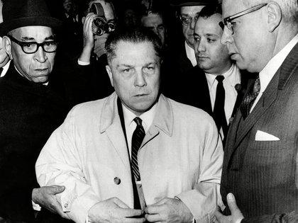 En 1952 Hoffa fue nombrado vicepresidente del sindicato de camioneros. Pocos años después llegó a la presidencia (Shutterstock)