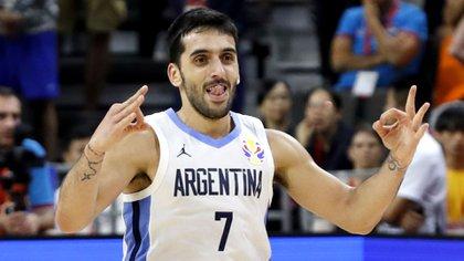 Facundo Campazzo es el corazón y alma de la selección argentina (Foto: Reuters)
