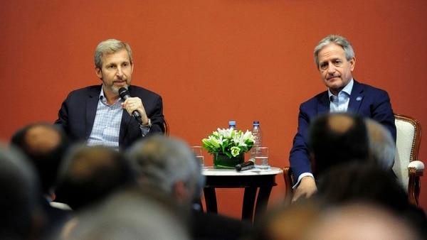 Los ministros de Interior, Rogelio Frigerio, y de Modernización, Andrés Ibarra presentaron un nuevo sistema de identidad digital que entra en efecto el 1º de agosto