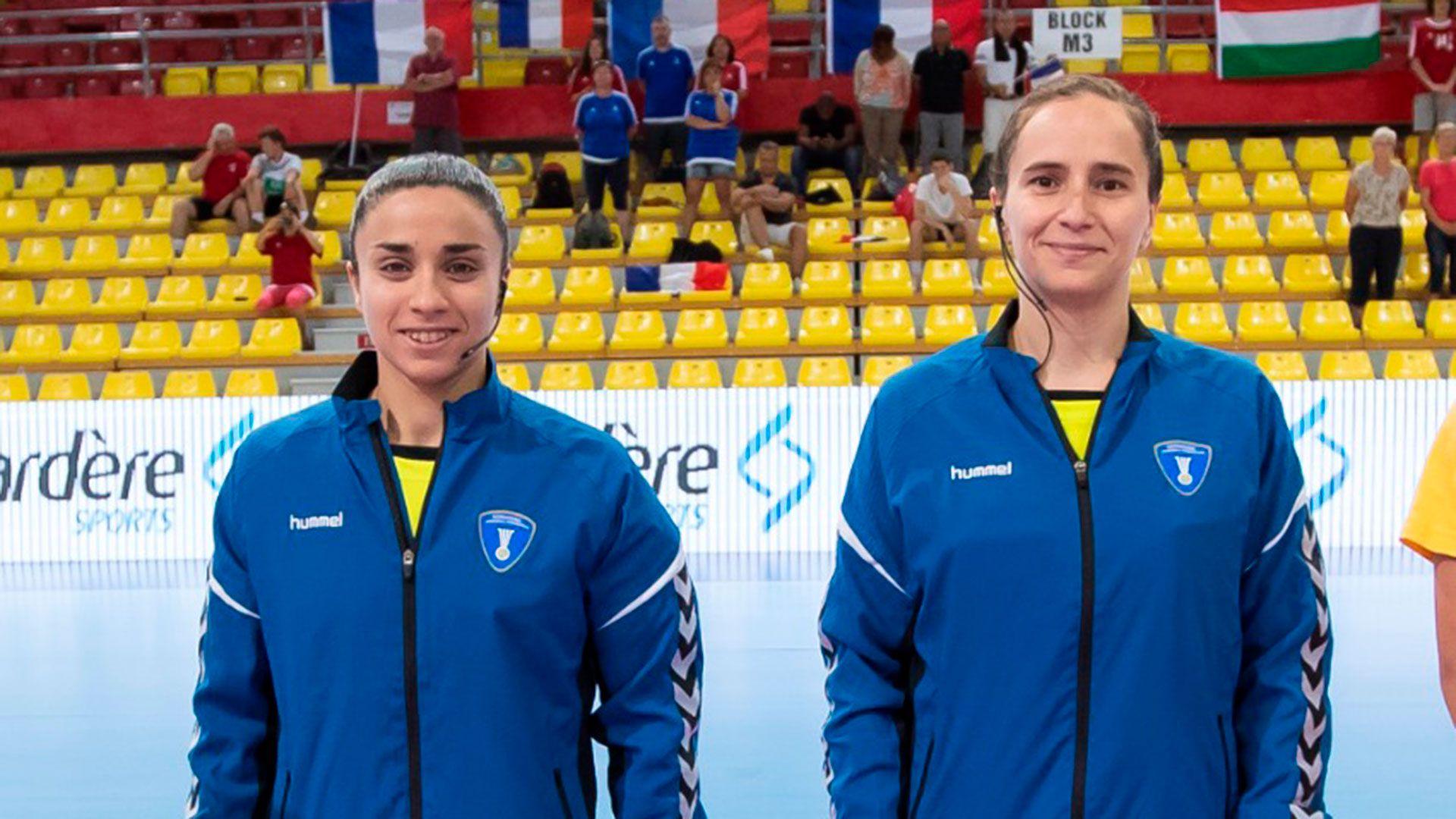 Inés Paolantoni y Mariana García en los Juegos Olímpicos