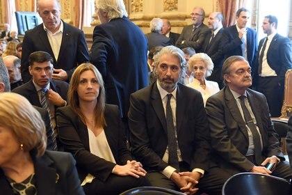 Los consejeros Marina Sánchez Herrera, Juan Pablo Más Vélez y Alberto Lugones.